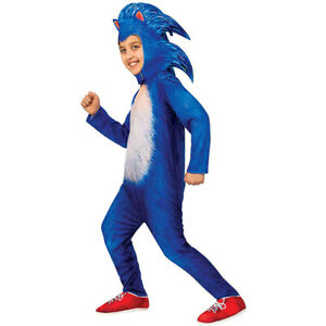 Sonic The Hedgehog Halloween Cosplay Costume Kids Boys Super Supersonic Carnival