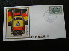 FRANCE - enveloppe 14/3/1981 (exporail) (cy54) french