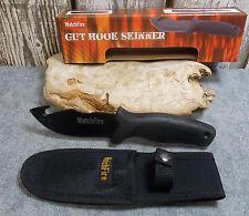 "WATCHFIRE 9"" BLACK GUT HOOK SKINNER HUNTING KNIFE WITH SHEATH 210922 NEW"
