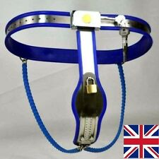 Full Female Chastity Belt/Device Stainless Steal Heavy Duty Double Chain 65-90cm