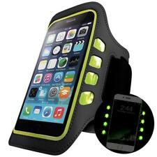 Universal Arm Band Smartphone Case LED Phone Holder for Sports Running Cycling