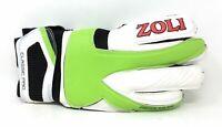 Zoli Goalie Goalkeeper Soccer Padded Gloves Classic Pro Size 10 White Green