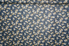 Sweet Home Cotton Fabric Black  Floral  Thimbleberries By the Yard  Bfab