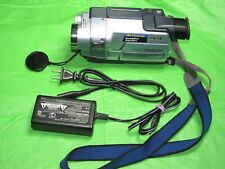 Sony Handycam Dcr-Trv250 Digital8 Camcorder -Record Transfer Play Digital 8 Tape
