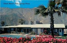 Palm Springs CA~Dinah Shore Home~George Montgomery~San Jacinto Mountains~1950