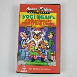 Yogi Bear VHS All Star Comedy Christmas Caper Tape Hanna Barbera 1989