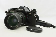 [Exc+5] Canon AE-1 Program Film Camera Black w/ New FD 35-70mm F/4 from Japan