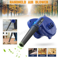 600W 13000RPM Electric Handheld Air Leaf Blower Computer Vacuum Dust Cleaner