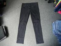 "Oasis Cherry Jeans Size 14  Leg 32"" Black Faded Ladies Jeans"