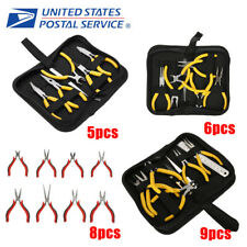 New 5/6/8/9Pcs Tooth Needle Round Nose Pliers Tool Kit For Jewelry Making Tools