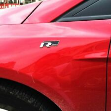 Stingray Metal  BLACK RLINE Logo Car Front Hood Side Door Badge Emblem Sticker