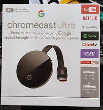 Brand New Sealed Google Chromecast Ultra 4K support TV Streaming