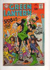 Green Lantern #66 HIGH GRADE VF/NM 9.0! 1969 WHITE PAGES! DC SILVER BEAUTY!