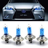 4Pcs H7 12V 100W Phare de voiture CREE Ampoule 8500k Xénon Lampe Super blanc
