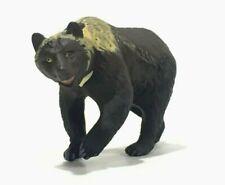 Japan Kaiyodo Choco Q Brown Bear Miniature Animal Realistic Mini Figure