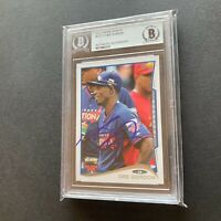 Dee Gordon 2014 Topps Update All-Star Game #US177 Authentic Auto Autographed BGS