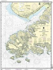 NOAA Chart Gore Point to Anchorage Point 20th Edition 16645