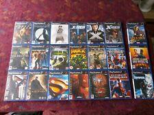 Big Bundle Marvel DC Sony PS2 Video Games Spiderman X-Men Hulk Punisher Iron Man