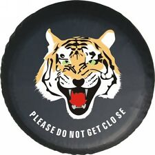 """SPARE WHEEL TIRE COVER UNIVERSAL tiger logo FOR all the car 14""""  15"""" 16"""" and 17"""""""