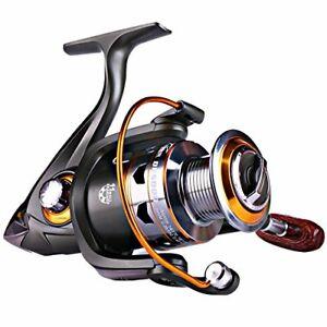 Sougayilang Spinning Fishing Reels Smooth 11BB for Inshore Boat Rock Freshwat...