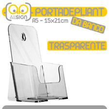 PORTADEPLIANT A5 porta cataloghi depliant volantini espositore plex catalogo bar