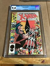 The Uncanny X-Men #211 (Nov 1986, Marvel)CGC universal grade 9.4 white pages