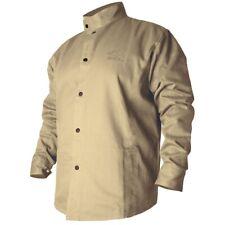 Revco Black Stallion BSX 9oz Tan FR Cotton Welding Jacket (Large) (BXTN9C)