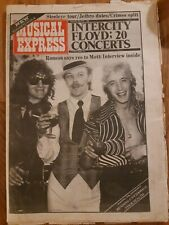 NME newspaper September 28th 1974 Mott the Hoople and Pink Floyd cover