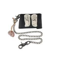 Porte monnaie Officiel the Walking dead porte monnaie Daryl avec chainette TWD