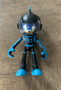 "Sonic The Hedgehog Sonic Boom Space Suit Action Figure Black Blue Rare 3"""