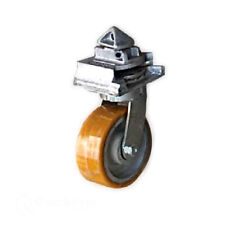 More details for shipping container caster wheels skates heavy duty twist lock mechanism