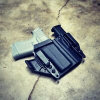 """Glock 43 Fits - """"ARSENAL"""" Appendix IWB Kydex Concealed Carry Holster"""