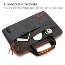 iPad Pro 12.9 Sleeve Case Multi-Functional Crossbody Handbag USB Port Dark Grey