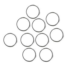 10x Durable 316 Stainless Steel Scuba Diving Gear Attachment Split Ring 22mm