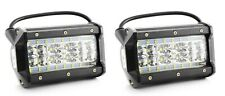 84W 12/24V Spot LED 2x Lights Lamps for Tractor Bus SUV 4x4 Truck Boat Yacht Van