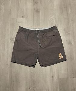 Psycho Bunny Gray Shorts Swim Trunks Men's Size Large
