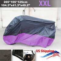 8 Color Large Universal Motorcycle Cover For Yamaha YZF R1 R6 R6S 600R 750R YZR