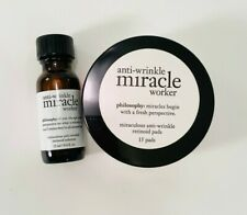 Philosophy Miracle Worker Miraculous Anti-wrinkle, Retinoid Pads & Solution