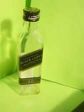 1 Johnnie walker BLACK LABEL SCOTCH WHISKY MINI  EMPTY BOTTLE 50 ML