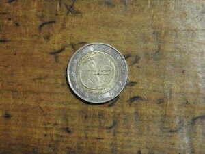 2 EURO commémorative FRANCE 2009 10°anniversaire EU