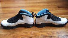 Nike Air Jordan X 10 Original 1994 White/Dark Powder Blue-Black 130209-102 SZ 9