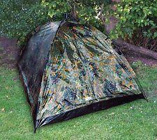 Zelt 2 Personen Campingzelt EasyTec Kuppelzelt Trekkingzelt Tarn Army Camouflage
