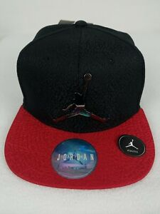 Jordan Jumpman 23 Youth Boys Hat Snapback Adjustable Black & Red 9A1623-KR5