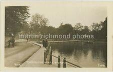 Carshalton Bridge & Water, Surrey Johns 8016 RP Postcard, B937