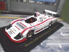 PORSCHE 936 936/82 Team Hockh Kremer DRM #23 Bellof Meisterfoto 1982 Spark 1:43