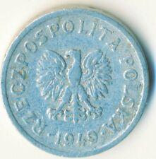 COIN / POLAND / 10 GROSZY 1949               #WT7568