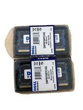 NEW DELL 8GB SNPNY687C/4G 2x4G 200-Pin PC2-6400 DDR2 Sodimm RAM Memory