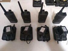 4 Motorola Spirit MU21CV UHF 2 Way Radios Walkie Talkies and accessories tested