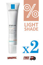 2x La Roche Posay Effaclar Duo + Unifiant *Light Shade* 40ml