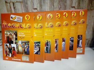 Serie di 7 DVD Corsi di Lingue LO Spagnolo DeAgostini Nuovi